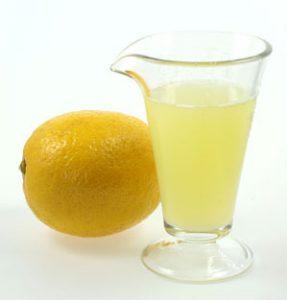 عصير ليمون لعمل الحمام المشوي