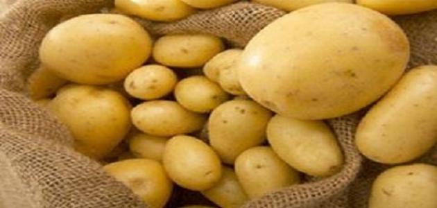 طريقة تخزين البطاطس بقشرها