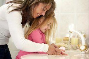 تعويد الطفل علي النظافة الشخصية