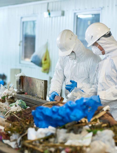 مشروع مصنع إعادة تدوير البلاستيك