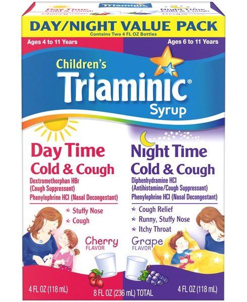 دواء تريامينيك Triaminic لعلاج نزلات البرد وعلاج الكحة