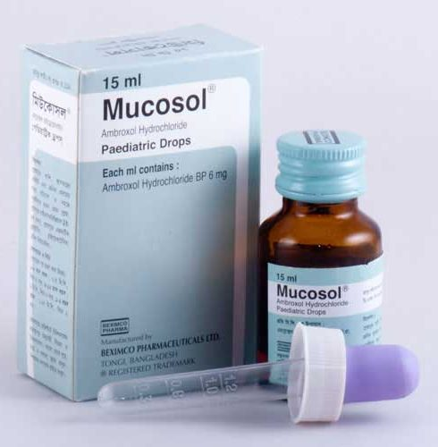 دواء ميوكوسول Mucosol للتخلص من البلغم وعلاج الكحة والبرد