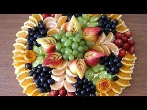 تزيين الفواكه للمناسبات