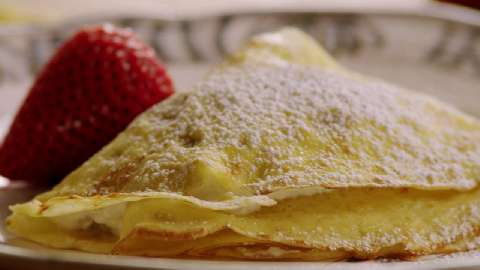 How to make sweet crepe