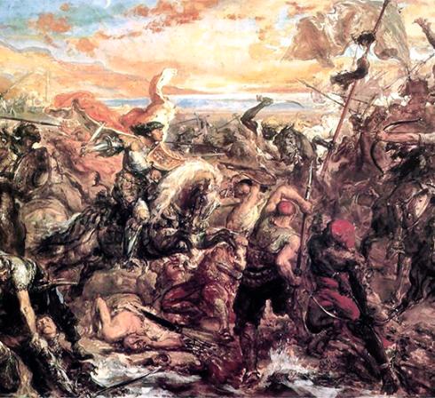 معركة بلاط الشهداء وخضوع أوروبا لسيطرة الفرنجا