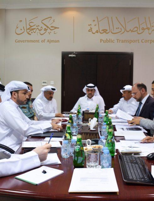 مؤسسة عجمان للنقل الناقل الرسمي لمؤتمر التخطيط الحضري