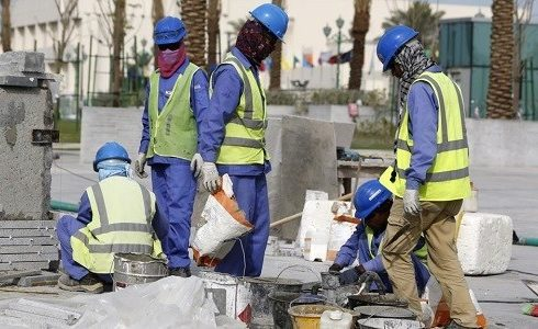 ظروف العمل فى قطر
