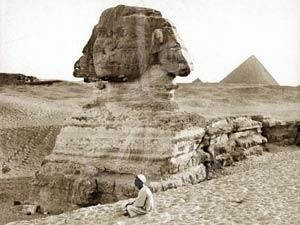 The land at the ancient kings of Egypt
