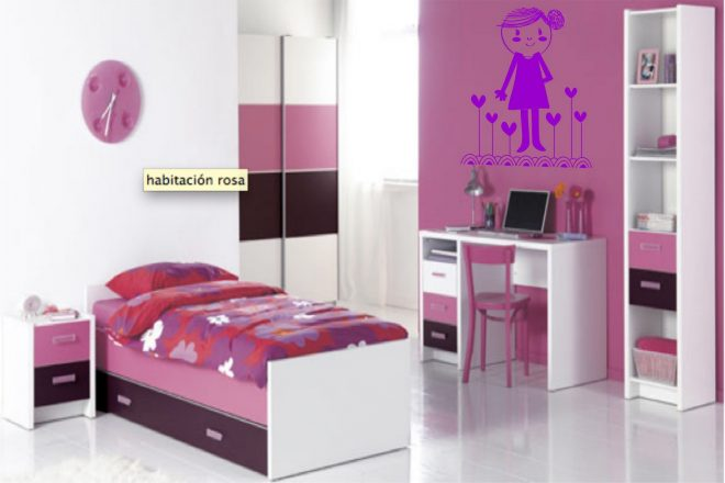 pink childrens bedroom furniture غرف أطفال 2018 16730