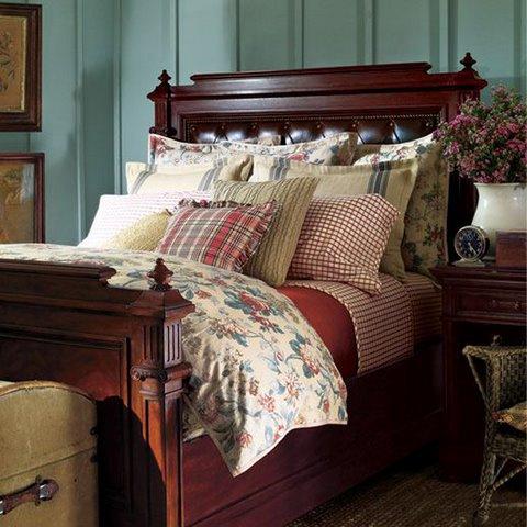 غرف نوم فخمة لشركة رالف لورين Ralph Lauren