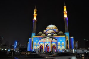 al-noor-mosque-night