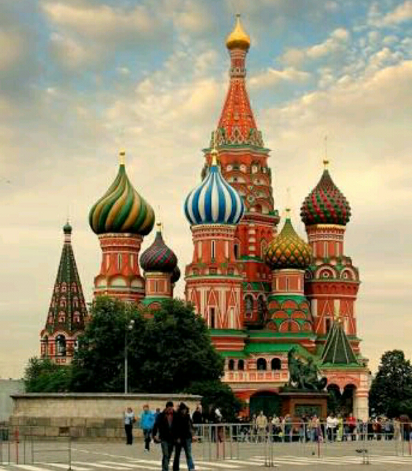 السياحة فى روسيا