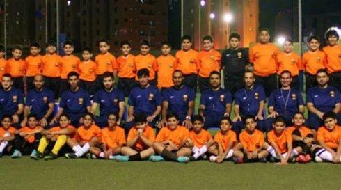 اكاديمية برشلونة في الكويت
