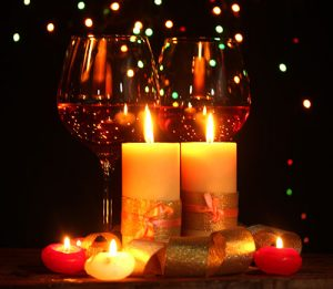 candlelight-wine