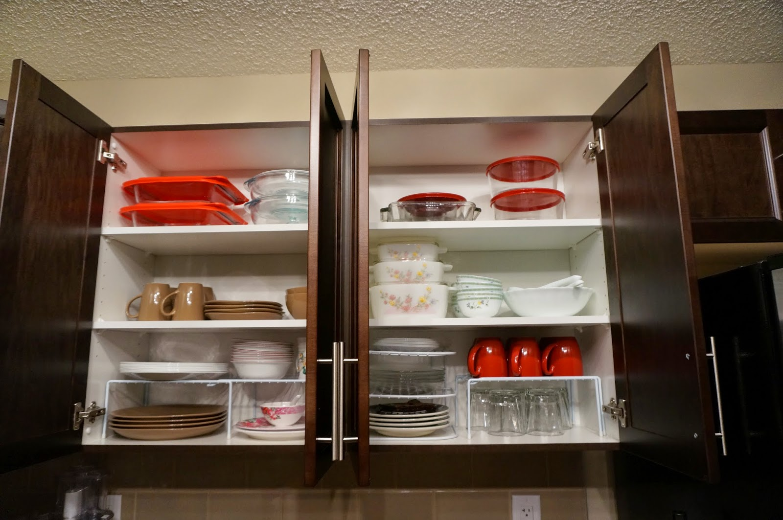 tips for organizing kitchen cabinets كيف ارتب مطبخى بالصور 8536