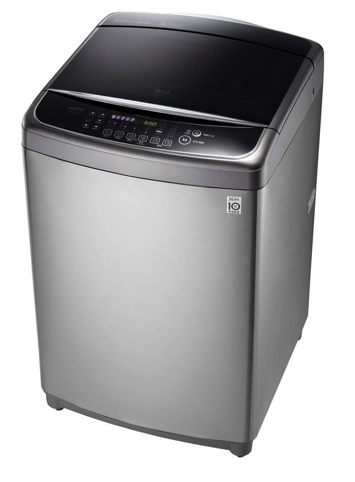 lg washing machine top load 16kg sliver color t1666teft1 - الغسالات الاتوماتيك الجديدة