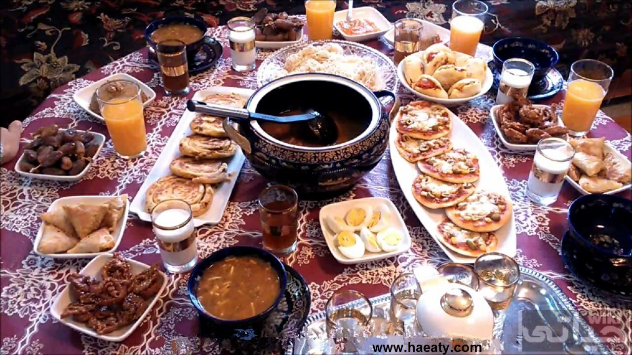 اكلات عزومات رمضان بالصور
