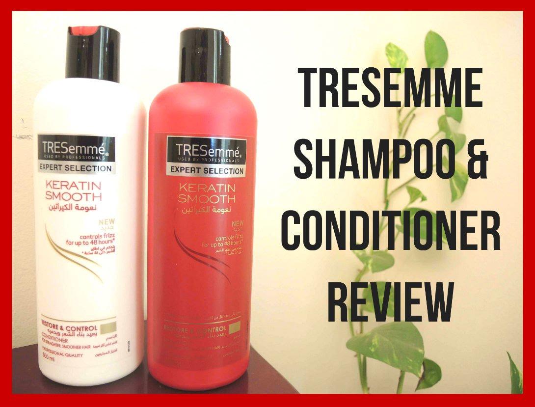 - Tresemme Keratin Smooth Shampoo