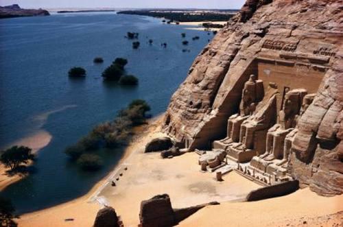 الأرض عند ملوك مصر القدماء