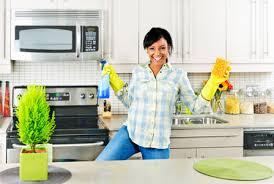 تنظيف المطبخ بالخطوات والصور