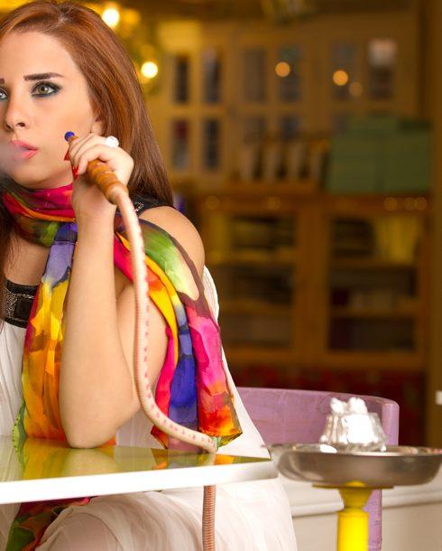 مقاهي شيشة الكويت بنات