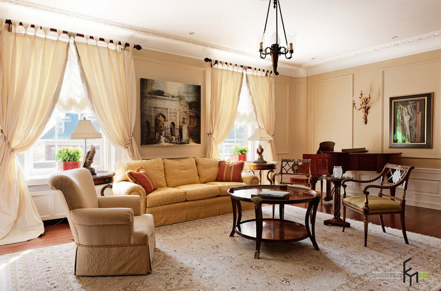 Superior Curtains With Beige Walls. 33 ...